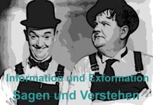 information und exformation